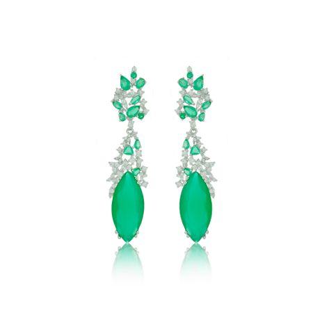 Brinco-Rodio-Pedras-Verdes-e-Zirconia-Cristal-00025830_1