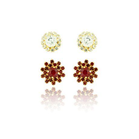 Duo-Brincos-Dourado-Rubi-e-Cristal---00026078