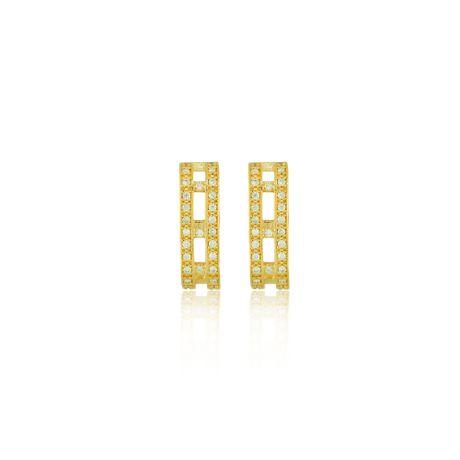 Brinco-Ear-Hook-Dourado-Duplo-Zirconias-Cristal--00026164
