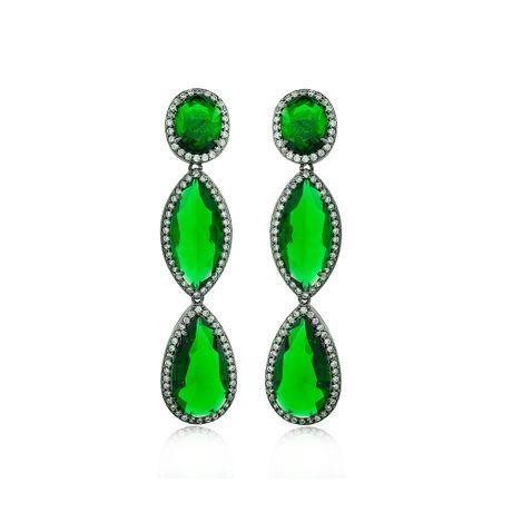 Brinco-Rodio-Negro-Pedras-Esmeralda---0013408