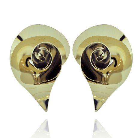 Brinco-Dourado-Flor-Metalica---00026568