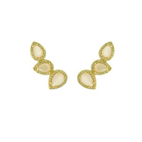 Brinco-Ear-Cuff-Dourado-Tres-Gotinhas-Quartzo-Rosa---00026376