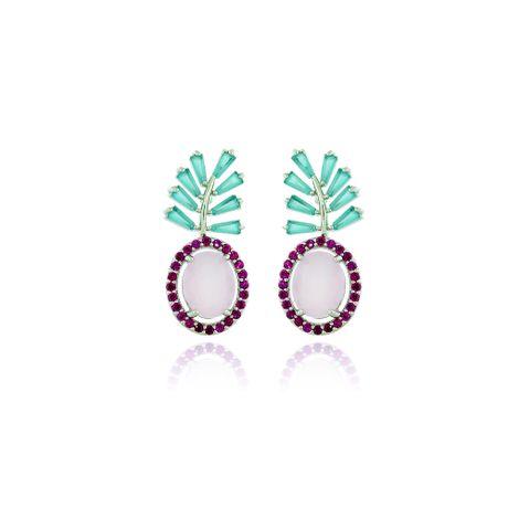 Brinco-Rodio-Pedras-Quartzo-Rosa-e-Aquamarine---00026888