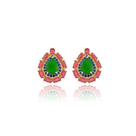 Brinco-Dourado-Gota-Pedras-Jade-e-Rubelita--00026806