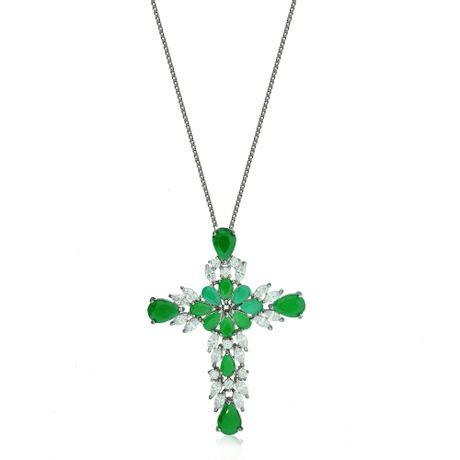 Colar-Rodio-Negro-Crucifixo-Gotas-Jade--00026861