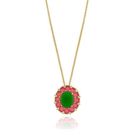 Colar-Dourado-Pedras-Color---00027160