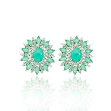 Brinco-Rodio-Pedra-Oval-Verde-Agua-e-Zirconias-Cristal---00026875