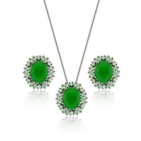Conjunto-Colar-Rodio-Negro-Pedra-Oval-Verde---00026853