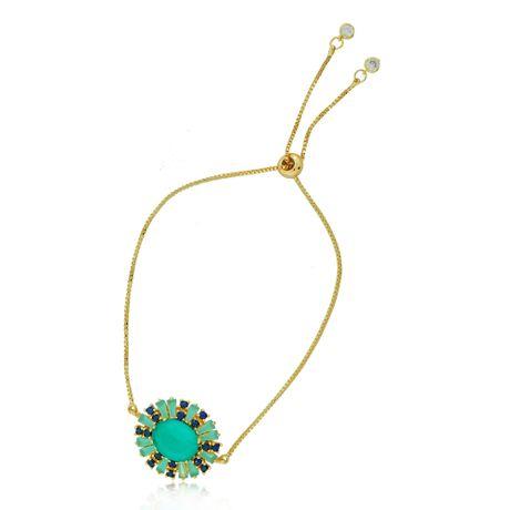 Pulseira-Dourada-Verde-e-Azul--00027149