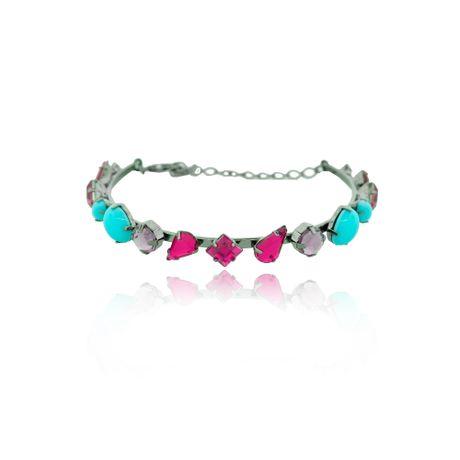 Pulseira-Pedras-Geometricas-Turquesa-e-Pink-00027828