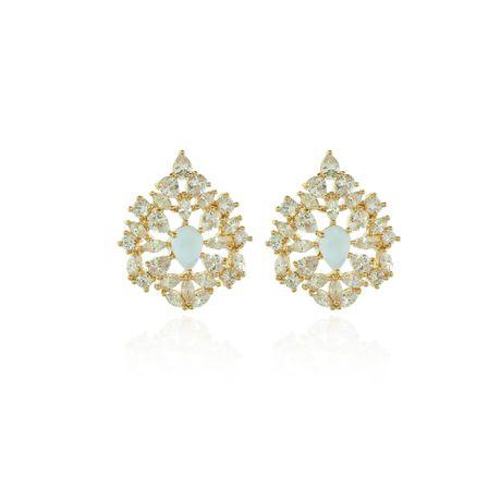 Brinco-Dourado-Gotas-Cristal-e-Quartzo-Vela--0008294
