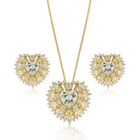 Conjunto-Colar-Dourado-Coracao-Cristal---00028466
