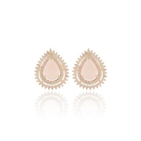 Brinco-Dourado-Gota-Pedra-Quartzo-Rosa---00028354