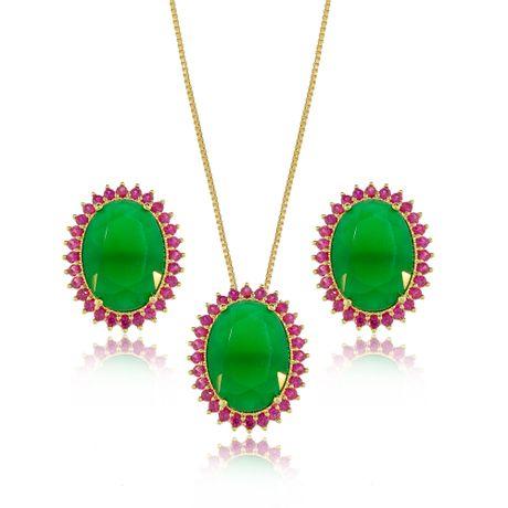 Conjunto-Colar-Dourado-Oval-Jade-e-Rubelita---00028463