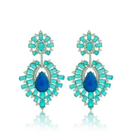 Brinco-Rodio-Pedras-Ovais-Azul---00028416