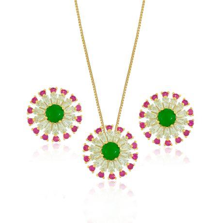 Conjunto-Dourado-Flores-Pedra-Jade-Cravejado-Rubelita---00029601