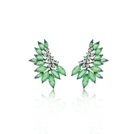 Brinco-Ear-Cuff-Grafite-Navetes-Verde-Agua-e-Zirconias-Cristal---00028554