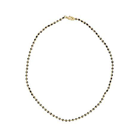 Gargantilha--Choker-Dourada-Pedras-Preto---00029231
