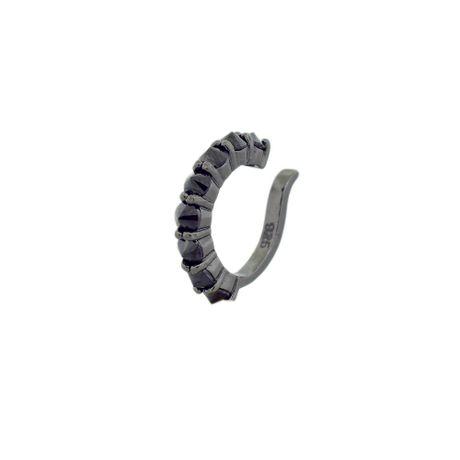 Piercing-Prata-925-Spikes-Onix---00029580
