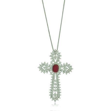 Colar-Crucifixo-Pedra-Rubi---00029669
