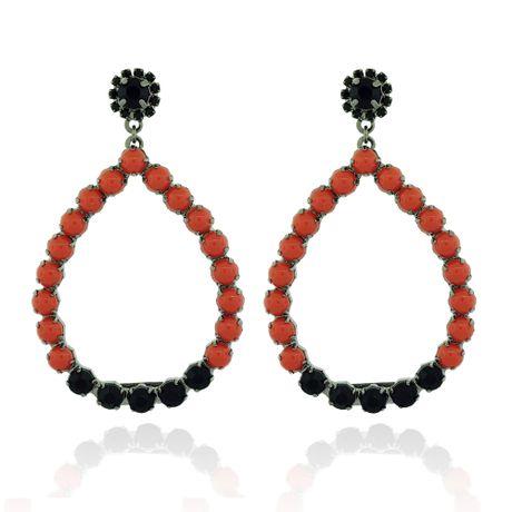 Brinco-Goutte-Coral-e-Black---00029820