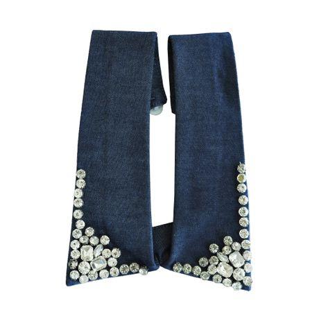 Colar-Gola-Tecido-Jeans-e-Cristal---00029748