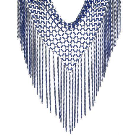 Colar-Azul-Malha-de-Correntes-e-Franjas---00029739