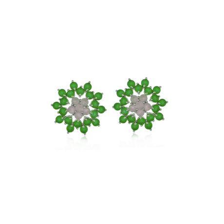 Brinco-Rodio-Flor-Pedras-Jade-e-Quartzo-Rosa---0030558