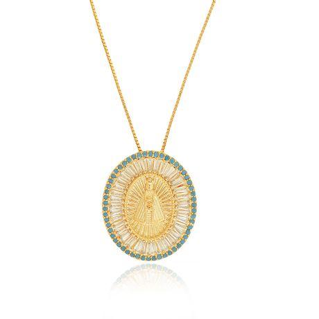 Colar-Dourado-Religioso-Zirconias-Turquesa---00030374