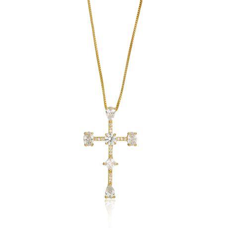 Colar-Dourado-Cruz-Zirconias-Cristal---00030420