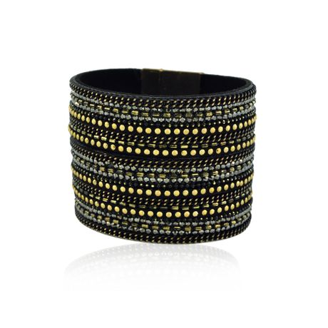 Bracelete-Pedrinhas-Dourado-e-Preto---00030912