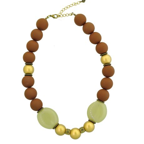 Colar-Ouro-Velho-Pedras-Marrom---00031579