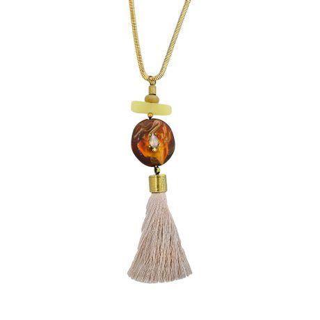 Colar-Dourado-Pedra-Marrom-e-Tassel---00031596