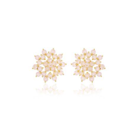 Brinco-Dourado-Flor-Quartzo-Rosa---00031632