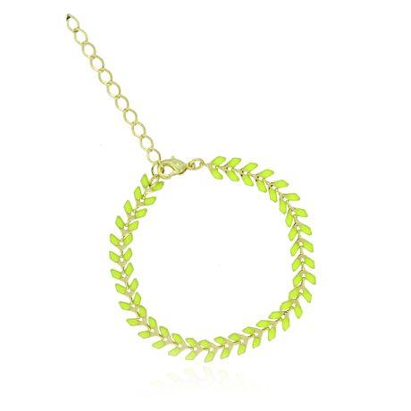 Pulseira-Dourada-Resina-Verde-Neon----00030117