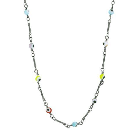 Colar-Longo-Grafite-Olho-Grego-Color----0031864