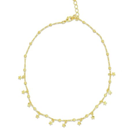 Gargantilha-Choker-Dourado-Chumbinhos-e-Estrelas---00029384