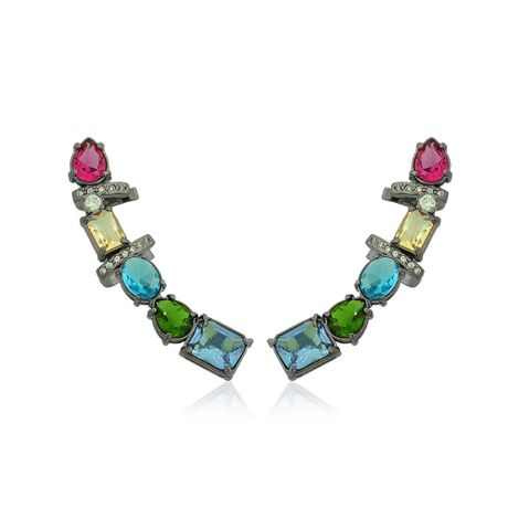 Brinco-Ear-Cuff-Grafite-Pedras-Coloridas---00032588