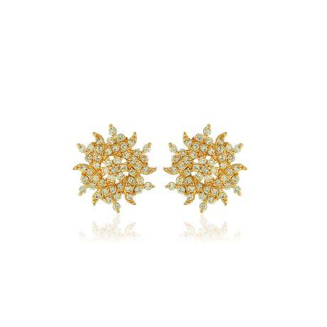 Brinco-Dourado-Flor-Zirconias-Cristal---00019988