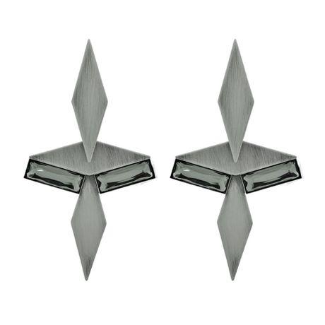 Brinco-Grafite-Escovado-Origami-Cristal---00033116