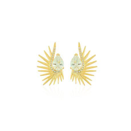 Brinco-Dourado-Curto-Gota-e-Zirconias-Cristal---00033344