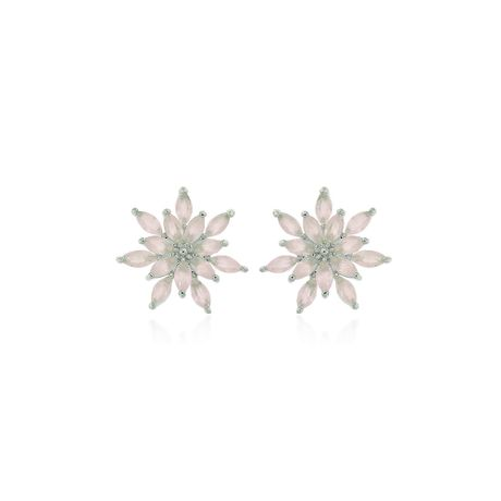 Brinco-Rodio-Flor-Quartzo-Rosa---00033140