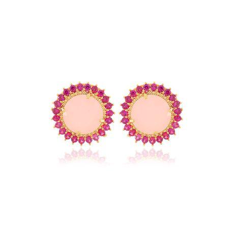 Brinco-Dourado-Redondo-Rosa---00033307