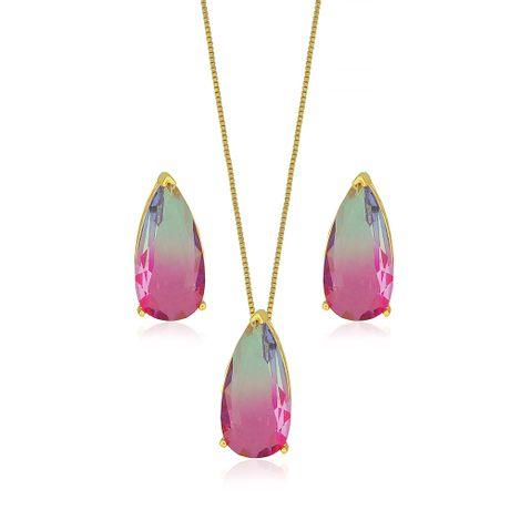 Conjunto-Dourado-Gota-Rainbow-Rosa-e-Lilas---00033337