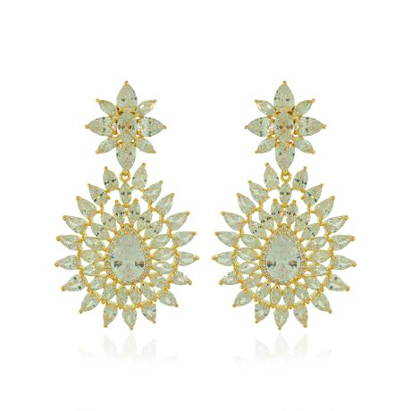 Brinco-Dourado-Medio-Gotas-Cristal---00033317