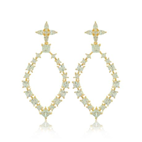 Brinco-Longo-Dourado-Gota-e-Flor-Cristal---00033215