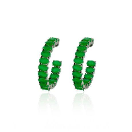Brinco-Argola-Grafite-Pedras-Ovais-Jade---00033206