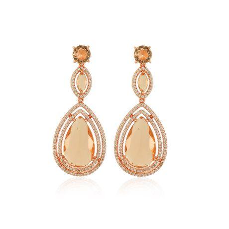 Brinco-Medio-Rose-Pedras-Morganita-e-Zirconias-Cristal---00033760