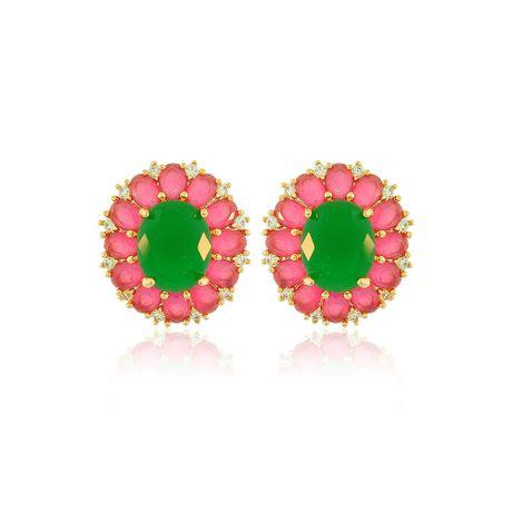 Brinco-Dourado-Pedra-Jade-e-Rubelita---00026946