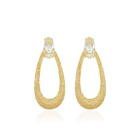 Brinco-Oval-Dourado-Gota-e-Zirconias-Cristal---00033947